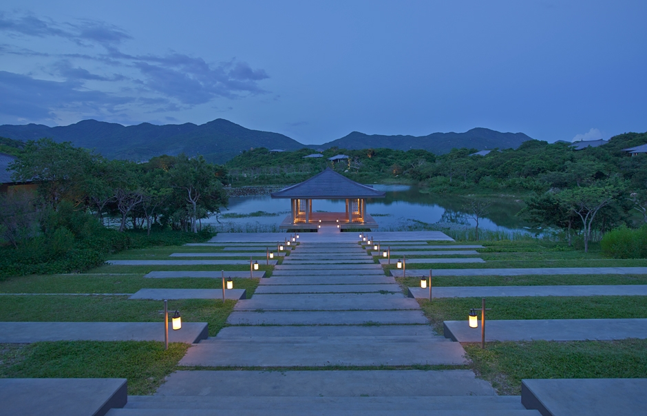Amanoi, Vietnam - Spa Lake Terraces. © Amanresorts