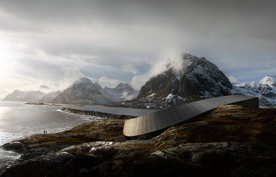 Lofoten Opera Hotel Norway. TravelPlusStyle.com
