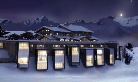 Six Senses Mont Blanc, France. TravelPlusStyle.com