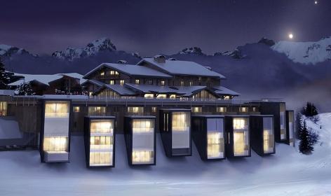 Six Senses Mont Blanc, France. TravelPlusStyle.com