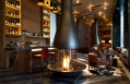 The Bar. The Chedi Andermatt, Switzerland. © GHM