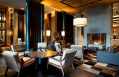 Lounge area. The Chedi Andermatt, Switzerland. © GHM