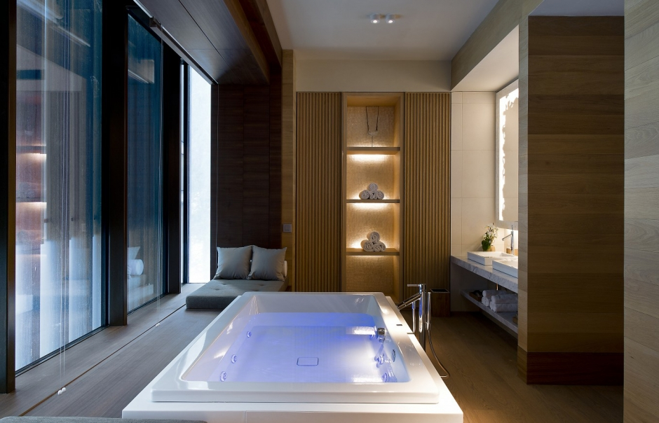 Spa. The Chedi Andermatt, Switzerland. © GHM