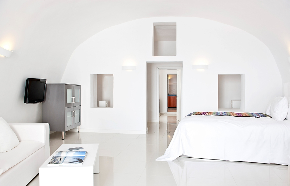 Chromata Up Style Hotel, Santorini. © Chromata Up-Style Hotel