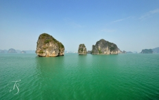 Halong Bay, Vietnam. © Travel+Style