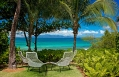 Away Spa courtyard. W Retreat & Spa – Vieques Island, Puerto Rico. © Starwood Hotels & Resorts