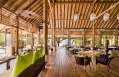 Ufaa Restaurant. COMO Cocoa Island - Maldives. Hotel Review by TravelPlusStyle. Photo © COMO Hotels and Resorts