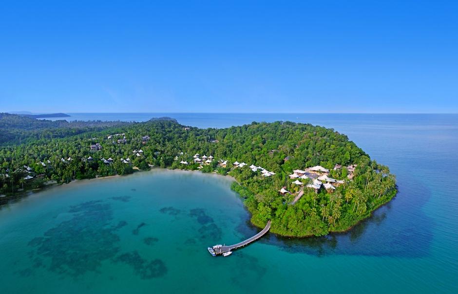 Aerial shot. Soneva Kiri, Koh Kood, Thailand. © Soneva.com