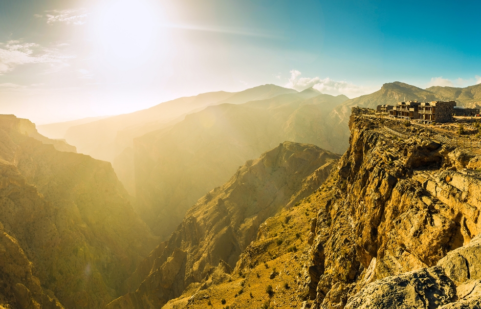 Panorama. Alila Jabal Akhdar, Nizwa, Oman. © Alila Hotels and Resorts