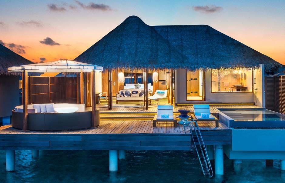Ocean Oasis Retreat. W Maldives, Fesdu Island, Maldives. Hotel Review by TravelPlusStyle. Photo © Marriott International