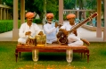 Musicians. Amanbagh, Alwar, Rajasthan, India. Luxury Hotel Review by TravelPlusStyle. Photo © Aman Resorts