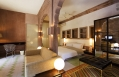 Heritage Suite bedroom. Raas Jodhpur, India. Luxury Hotel Review by TravelPlusStyle. Photo © Rass