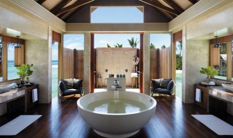 Villa Muthee. Shangri-La's Villingili Resort and Spa. © Shangri-La Hotels and Resorts