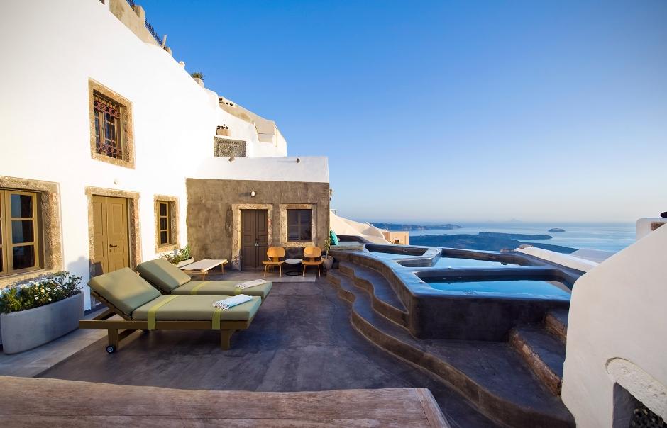 Sophia Luxury Suites Santorini. TravelPlusStyle.com