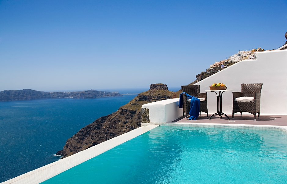 Armonia Suite, Dreams Luxury Suites, Santorini. © Dreams Luxury Suites