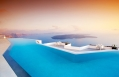 Infinity pool. Grace Hotel Santorini, Greece. Luxury Hotel Review by TravelPlusStyle. Photo © Auberge Resorts Collection