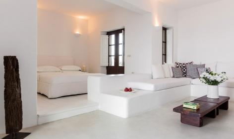 Aenaon Villas, Santorini. TravelPlusStyle.com