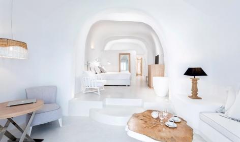 Charisma Suites Oia, Santorini. TravelPlusStyle.com