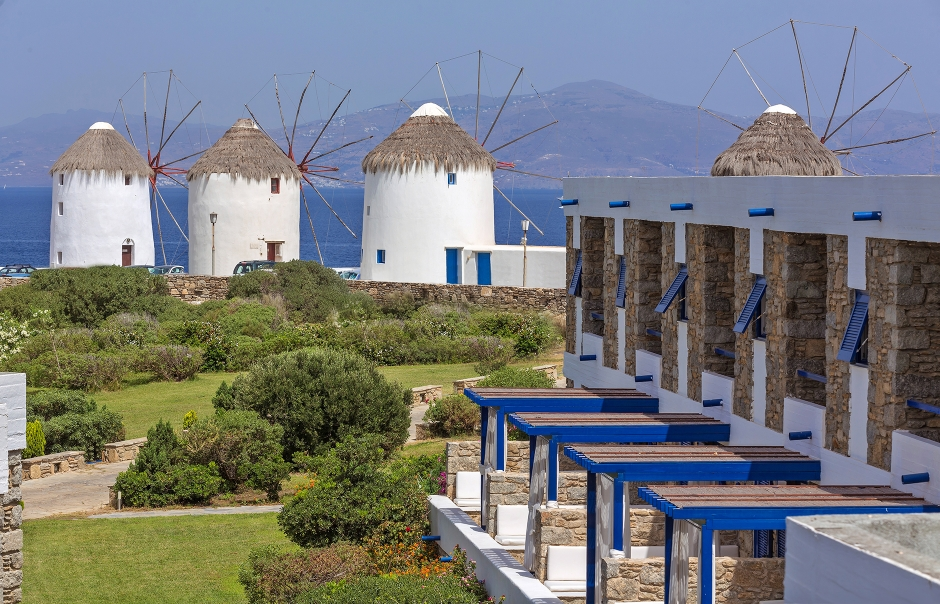 Mykonos Theoxenia Boutique Hotel, Mykonos, Greece. Hotel Review by TravelPlusStyle. Photo © Design Hotels