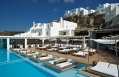 Cavo Tagoo Pool Area. Cavo Tagoo Hotel. Mykonos, Greece. © Cavo Tagoo