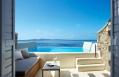 Deluxe Room With Pool. Cavo Tagoo Hotel. Mykonos, Greece. © Cavo Tagoo