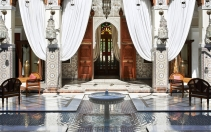 Lobby. Royal Mansour, Marrakech, Morocco. © Royal Mansour