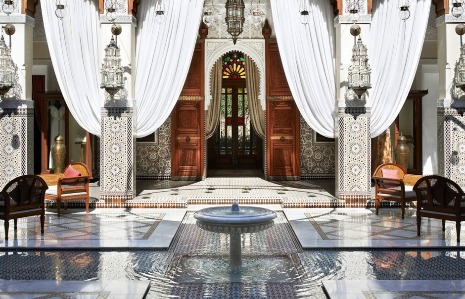 Royal mansour marrakech luxury hotels travelplusstyle for Design hotel marrakech