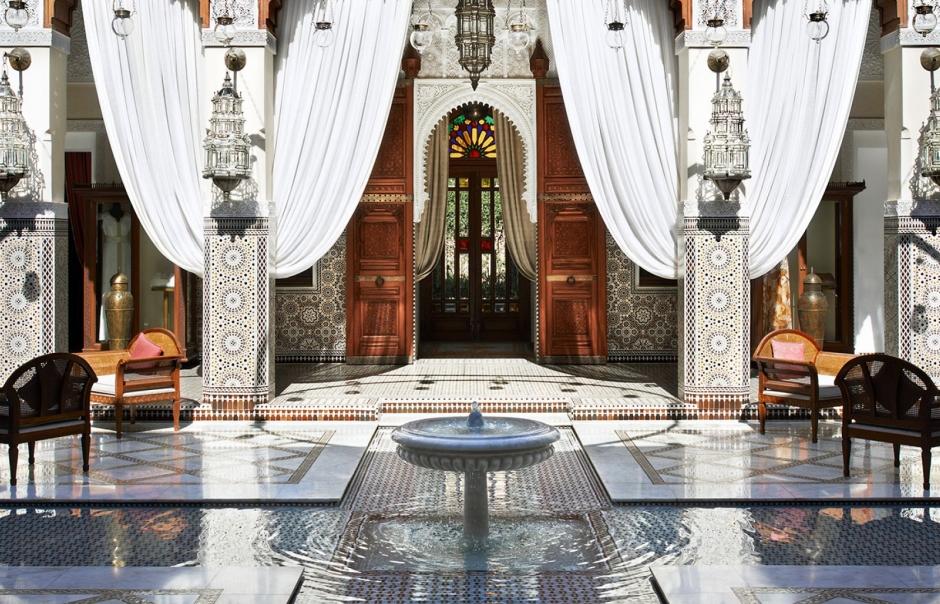 Lobby. Royal Mansour, Marrakech, Morocco. © Royal Mansour