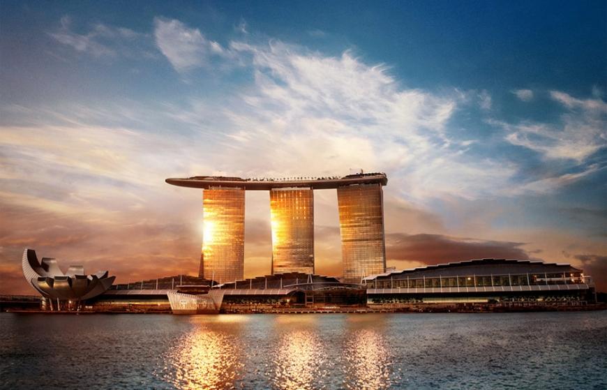On Top Of Singapore The Skypark Infinity Pool Luxury