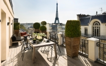 Hotel Marignan Champs-Elysées, Paris, France. Hotel Review by TravelPlusStyle. Photo © Marignan