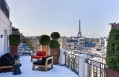 Suite Marignan Eiffel. Hotel Marignan Champs-Elysées, Paris, France. Hotel Review by TravelPlusStyle. Photo © Marignan