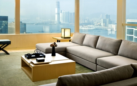 Upper Suite. The Upper House, Hong Kong. © Swire Hotels