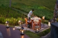 Dining Beyond by Rice Field. Mandapa, a Ritz-Carlton Reserve, Ubud, Indonesia. © The Ritz-Carlton Hotel Company