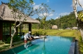 One Bedroom Rice Field Pool Villa – Swimming Pool. Mandapa, a Ritz-Carlton Reserve, Ubud, Indonesia. © The Ritz-Carlton Hotel Company