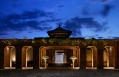 Welcome courtyard. Mandapa, a Ritz-Carlton Reserve, Ubud, Indonesia. © The Ritz-Carlton Hotel Company