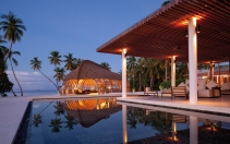 Pool area. Park Hyatt Maldives, Hadahaa. © Hyatt Corporation