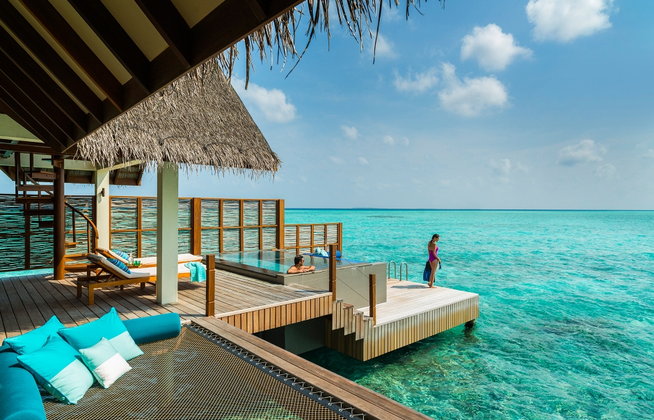 Four Seasons Resort at Landaa Giraavaru. TravelPlusStyle.com