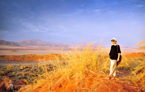 In Namib Rand Reserve, Namibia. Photo © Travel+Style