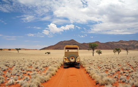 Exploring Namib Rand Reserve, Namibia. Photo © Travel+Style