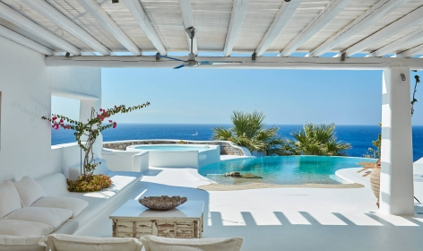 Top 15 Chic Luxury Hotels in Mykonos. Kirini My Mykonos Retreat. TravelPlusStyle.com