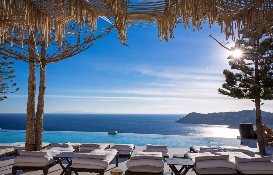 Top 15 Chic Luxury Hotels in Mykonos. Myconian Utopia Resort. TravelPlusStyle.com