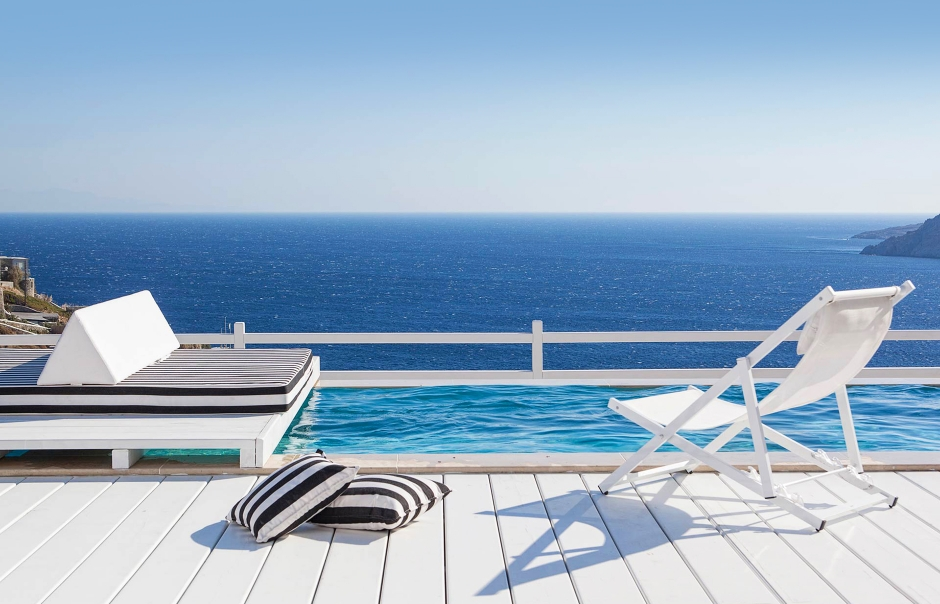 Top 15 Chic Luxury Hotels in Mykonos. Myconian Villa Collection. TravelPlusStyle.com