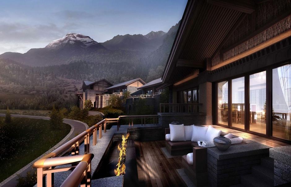 The Ritz-Carlton Jiuzhaigou, China. TravelPlusStyle.com