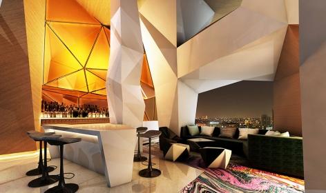 W Amman Hotel, Jordan. TravelPlusStyle.com