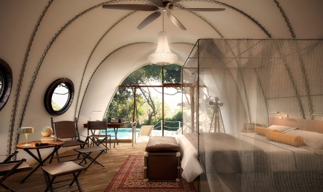 Wild Coast Lodge, Yala, Sri Lanka. TravelPlusStyle.com