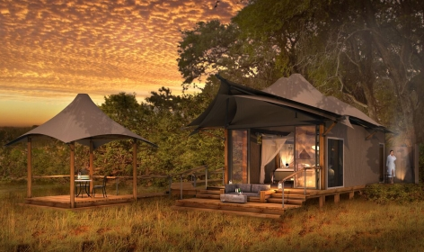 Khwai Leadwood and Khwai Tented Camp, Botswana. TravelPlusStyle.com