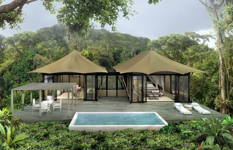 Nayara Luxury Tented Resort, Costa Rica. TravelPlusStyle.com