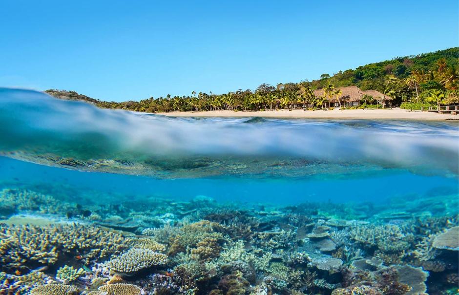 Kokomo Yaukuve Island Resort, Fiji. TravelPlusStyle.com