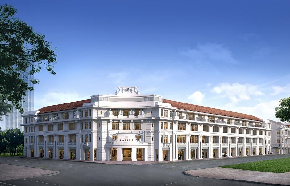 The Patina, Capitol Singapore. TravelPlusStyle.com