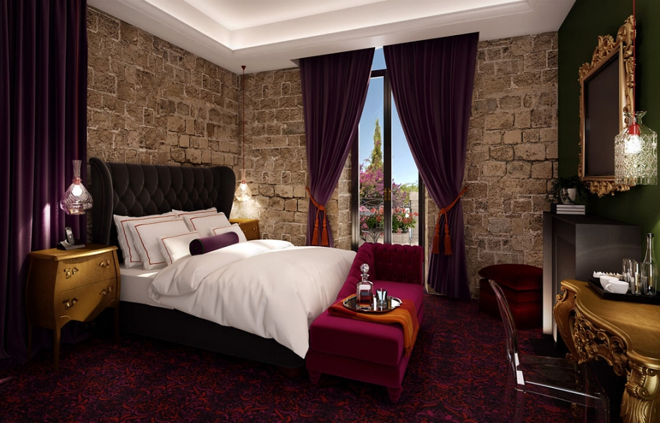 Brown Hotel, Jerusalem. TravelPlusStyle.com